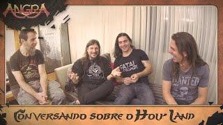 Histórias do Holy Land ft Kiko Loureiro, Rafael Bittencourt, Luis Mariutti, Ricardo Confessori