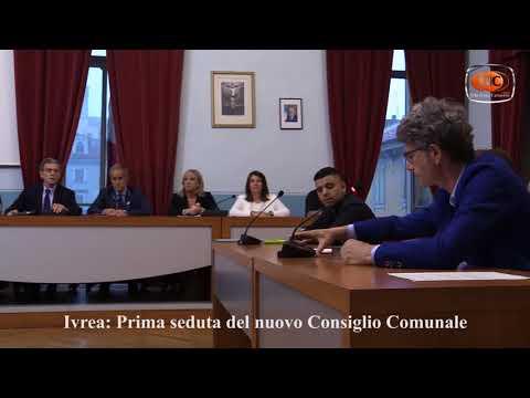 Preview video Ivrea: prima seduta del nuovo Consiglio Comunale