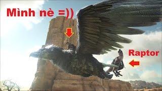 ARK: Scorched Earth #5 - Huấn luyện chim Điêu Argentavis gắp được Raptor =))