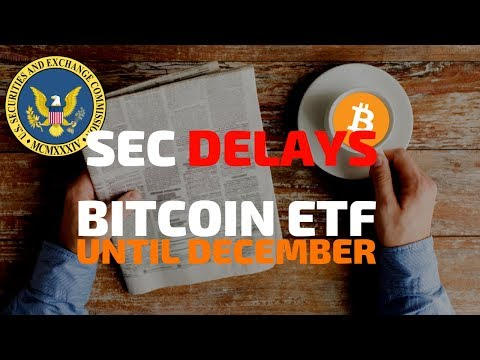 SEC Delays Bitcoin ETF Until December - Today's Crypto News