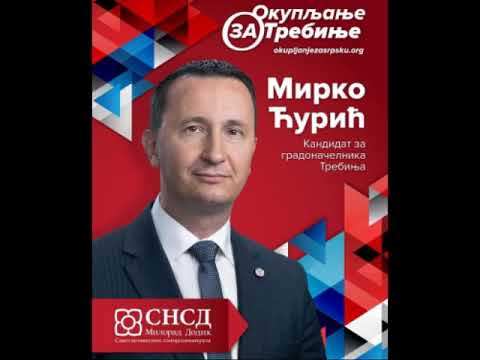 Mirko Ćurić, kandidat SNSD-a za gradonačelnika Trebinja (Audio)