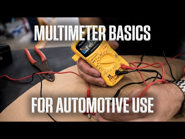DIY Video: How to use a multimeter