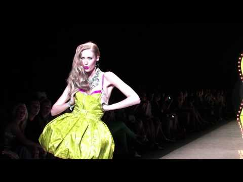 Cutler Redken Hair howto and Style, Betsy Johnson New York Fashion Week Spring 2012