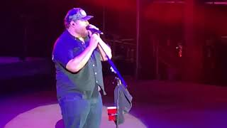 Luke Combs Red Rocks Amphitheatre Colorado May 12, 2019 New Song One Too Many 1, 2 Many