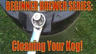 Homebrew Cornelius keg disassembly, cleaning, reassembly, quick ...