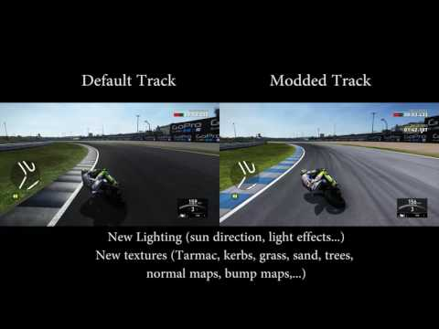 Jerez Track Mod Valentino Rossi The Game VRTG