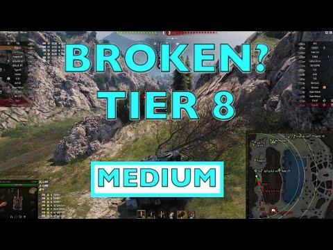 WOT - Most Broken OP Tier 8 Medium | World of Tanks