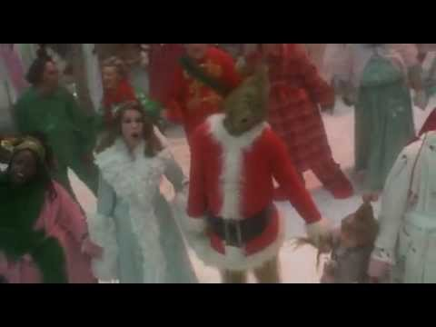 welcome christmas dr seuss how the grinch stole christmas 2000 scene - Youtube How The Grinch Stole Christmas