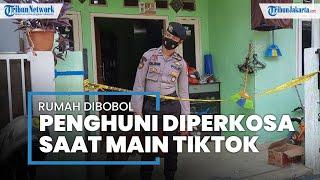Rumah di Bintara Bekasi Dibobol Maling, Penghuni Diperkosa saat Asyik Main Tiktok