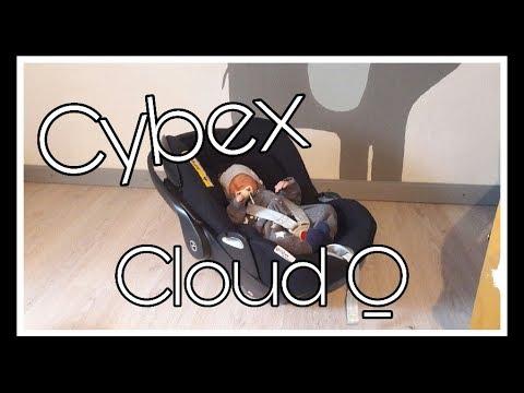 Unsere Babyschale | Cybex Cloud Q mit Liegefunktion || Reborn Baby Deutsch