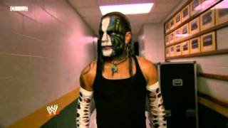 05-15-09 SD! - Jeff Backstage Before Match With Ortiz