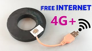 How to Get Free INTERNET 100% - New Ideas 2019 Free internet At home