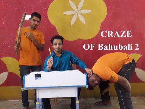 CRAZE of Bahubali 2 in School || Comedy by RRS Films