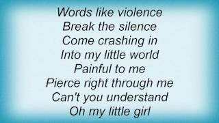 Evergreen Terrace - Enjoy The Silence (Hidden Song) Lyrics