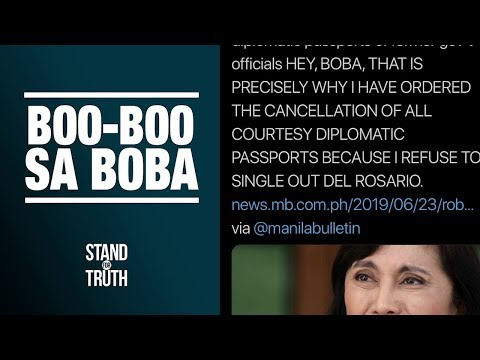 Stand for Truth: Foreign Sec. Locsin, tinawag na 'boba' si VP Leni!