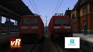 Train Simulator 2019 DB BR 101 Vergleich: VR vs DTG