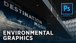 Photoshop Tutorial - Environmental Graphics