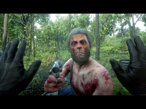 Red Dead Redemption 2 - First Person Brutal Gameplay Vol.9 (Ragdolls Compilation)