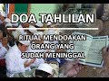 Doa Tahlil - Tahlilan