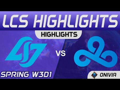 CLG vs C9 2021 LCS春季賽Highlights