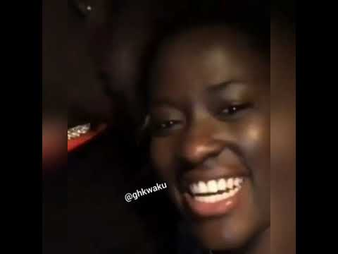 Medikal & Fella Makafui Shares Another Sweet Kissing Video