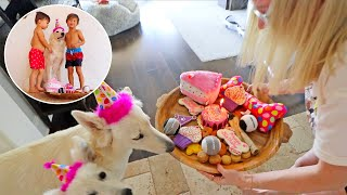 My Puppy's One Year Birthday Pawty!!! (Keren went all out)