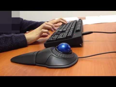 Using 'Kensington Orbit Scroll Ring Trackball' in real workplace