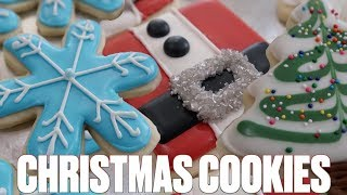 easy christmas cookies made with cake mix