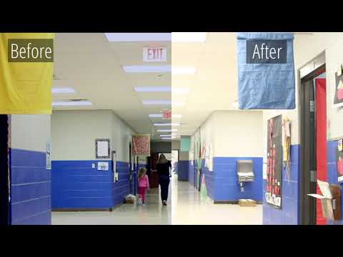 LED Retrofit Millersville Elementary Project Showcase