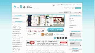 Easy Help Zen Cart Virtual Tour: All Business Free Template