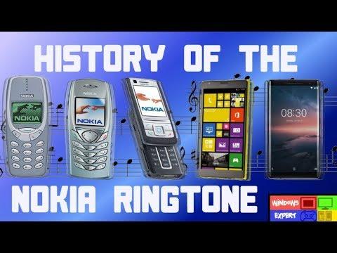 Evolution of Nokia Ringtone: 1994-2018 ( NEW NOKIA TUNE
