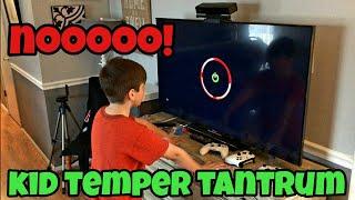 Kid Temper Tantrum Xbox Red Ring Of Death Prank On Kids - Kids Reaction