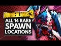 BORDERLANDS 3 | All 14 Rare Spawn Event Locations