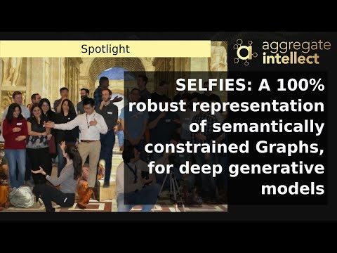 SELFIES: A 100% robust representation of semantically constrained Graphs, for deep generative models