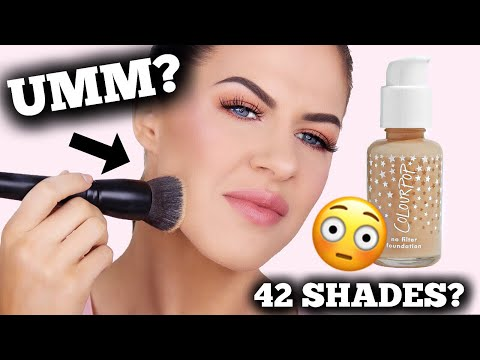 COLOURPOP NO FILTER FOUNDATION | DEMO, WEAR TEST & REVIEW!!