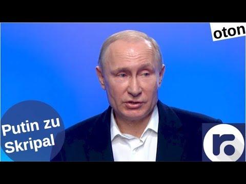 Putin zu Skripal auf deutsch [Video]