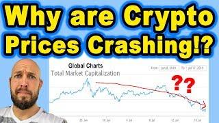 Why are Crypto Prices Crashing!?