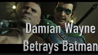Injustice 2 Damian Wayne Betrays Batman (Story Mode Gameplay)