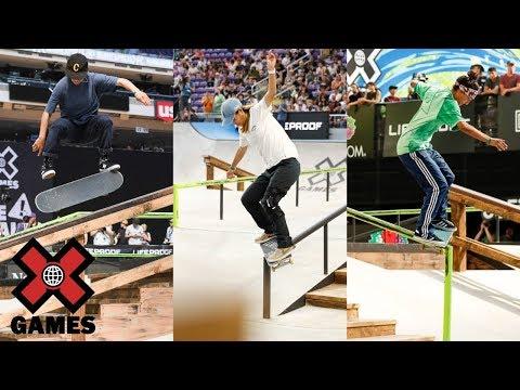 Top 3 Women's Skateboard Street runs from Minneapolis 2018 | X Games | ESPN