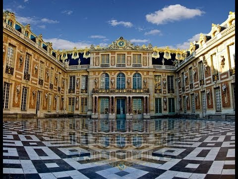 Дворец-Версаль. Король-Солнца.
