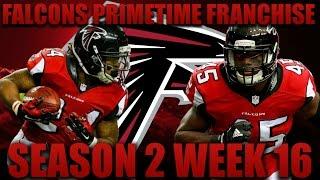 Madden 17 Falcons Franchise | Primetime League Season 2 Week 16! Overtime Game?!