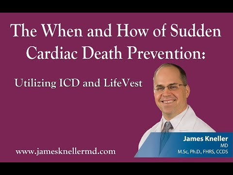 Preventing cardiac death - the latest and best use of ICDs, LifeVest