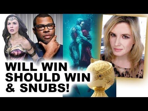 Golden Globes 2018 Nominations, Snubs & Predictions