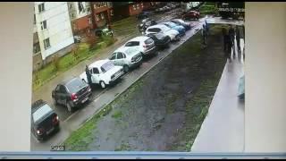 Массовая драка в Уфе (Затон, улица Ахметова) 13.09.2016