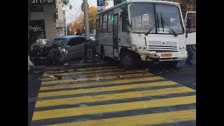 ДТП 18+ И снова маршрутка... подборка аварий за 18.10.2018 Ч.2 Октябрь2018