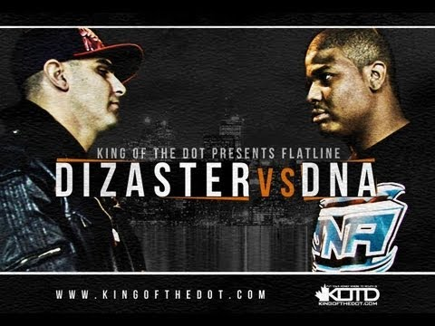 KOTD - Rap Battle - Dizaster vs DNA *Co-Hosted by DRAKE*