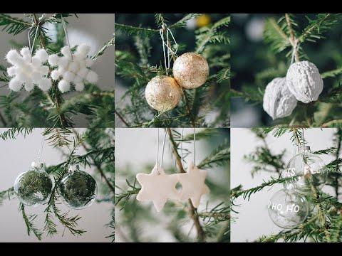 6 DIY Christbaumkugeln - Weihnachtsschmuck schnell und einfach selbst gemacht Teil 2