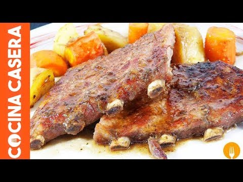 Video Receta: Sabrosas Costillas a La Miel