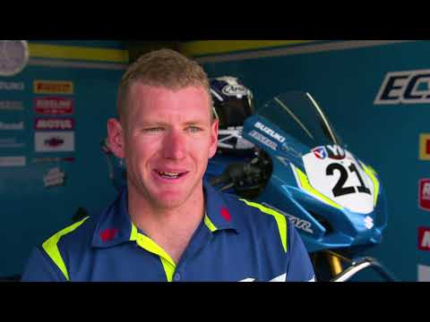 Josh Waters & Team Suzuki ECSTAR in ASBK
