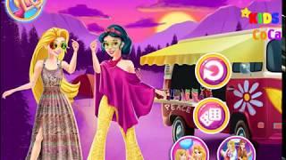Disney Princesses Hippie Fashion - KIDS CoCa
